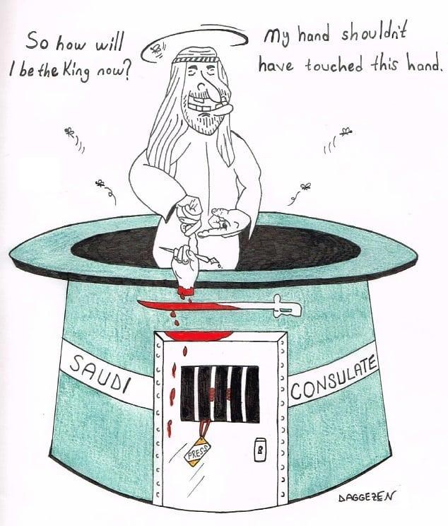 Bilal Daggazen - caricaturiste (1)