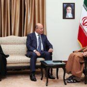 Le président irakien Barham Salih en visite à Téhéran en 2018