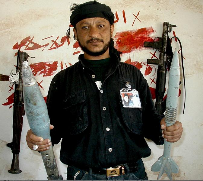 Milicien de l'armée du Mahdi