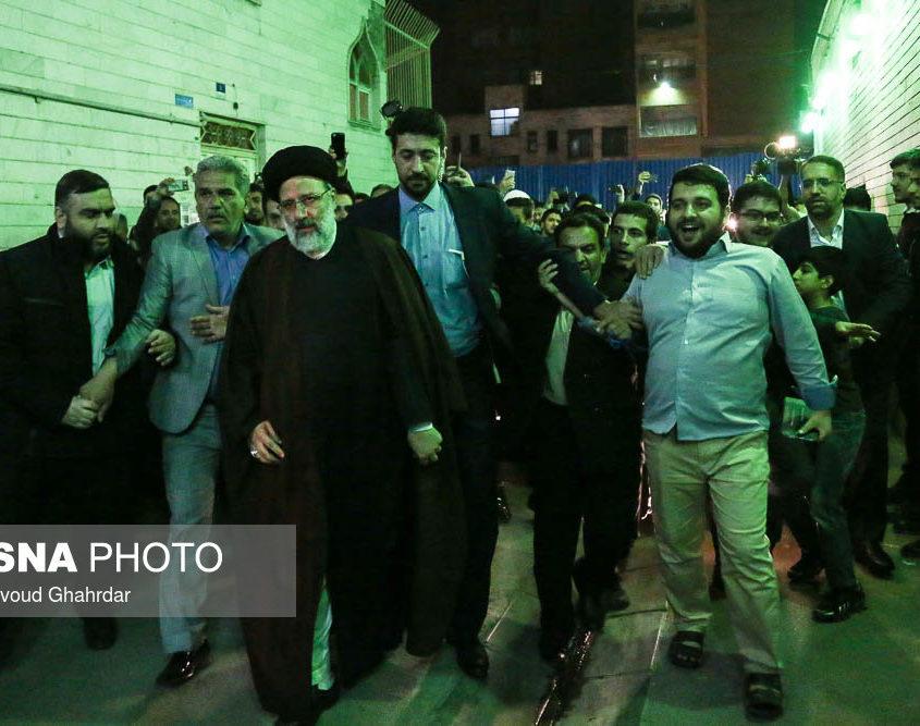 ISNA.IR, Ebrahim Raïssi, le candidat préféré du Guide suprême parmi ses partisans.jpg